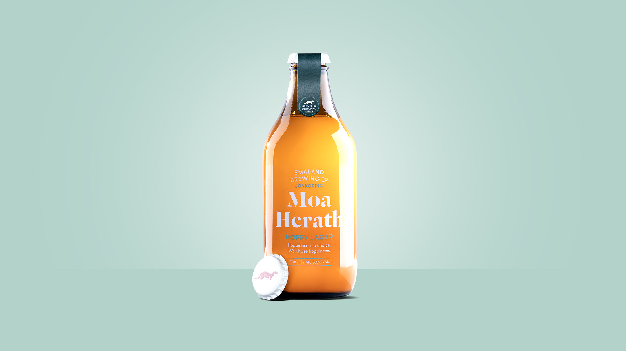 Småland brewing company design