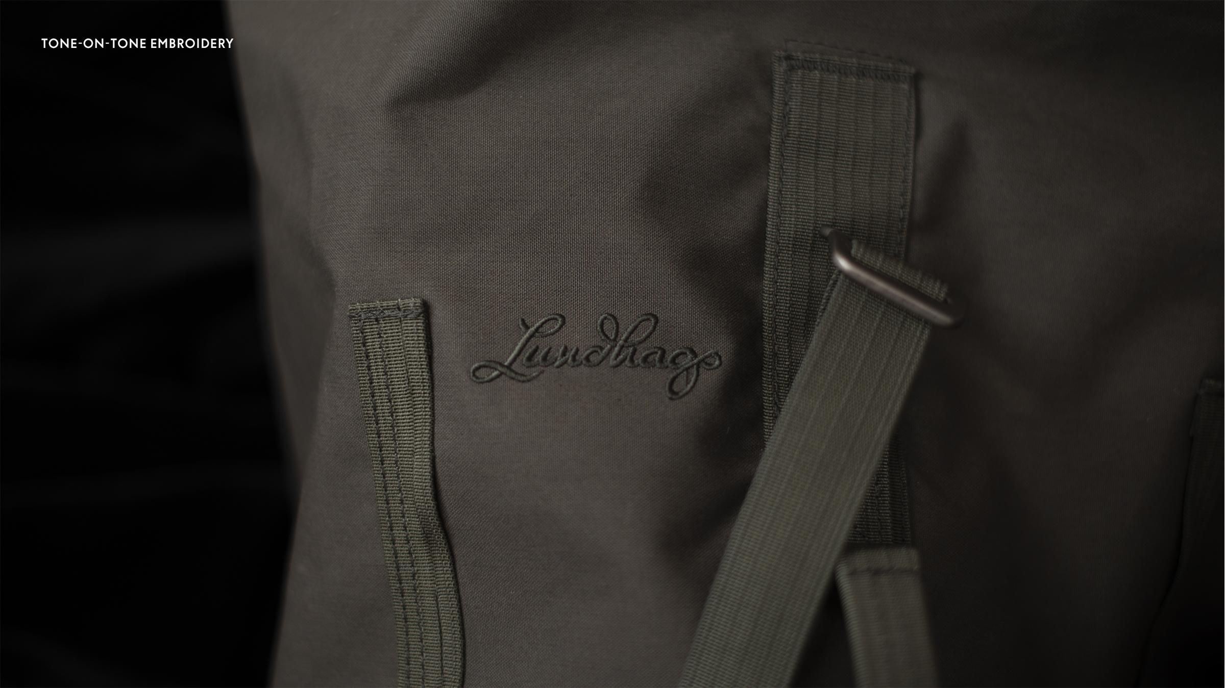 Lundhags märke på ryggsäck