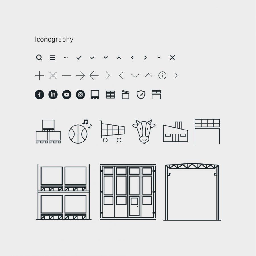 EAB webbplats – designsystem ikonografi